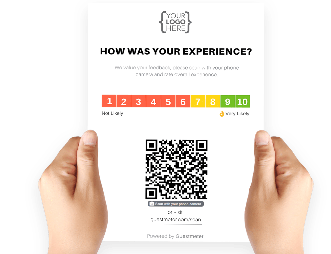Tours & Attractions Reputation Management - QR Channel
